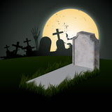Creepy halloween design Stock Image