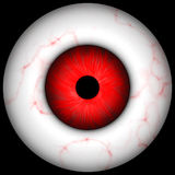 Creepy Halloween eye Royalty Free Stock Photo