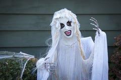 Creepy Halloween Ghoul. A creepy Halloween ghoul decoration Royalty Free Stock Photo
