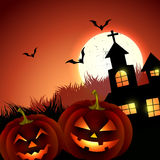 Creepy halloween vector Stock Photography