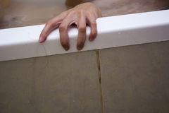 Creepy hand Stock Images