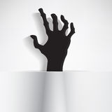 Creepy hand Stock Images