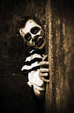 Creepy horror clown Stock Image