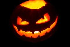 Creepy Jack'o Lantern Stock Image