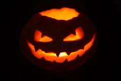 Creepy Jack'o Lantern Stock Photography