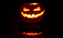 Creepy Jack'o Lantern Royalty Free Stock Image