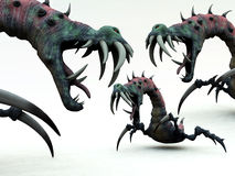 Creepy Monsters 2 Royalty Free Stock Photography