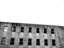 Creepy old building Royalty Free Stock Image