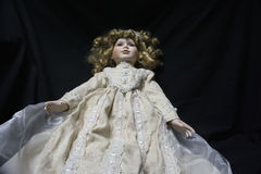 Creepy Old Fashioned Doll Royalty Free Stock Image