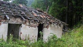 Creepy old house Stock Image