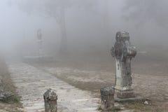 Creepy path Royalty Free Stock Photos