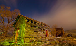 Creepy Rustic Shack Stock Photo