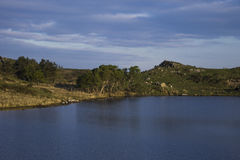 Cregennen jeziora Obraz Stock