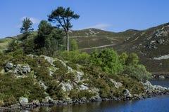 Cregennen Lakes. In Snowdonia Stock Image