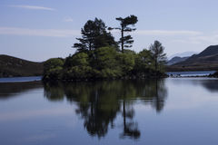 Cregennen sjöar Arkivfoto