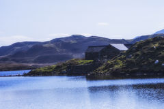 Cregennen sjöar Arkivfoton