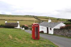 Cregneash, Isola di Man Immagini Stock