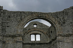 Crekvina church ruins Royalty Free Stock Photography
