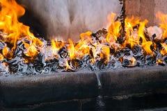 A cremação tailandesa budista Fotos de Stock Royalty Free