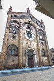 Crema (意大利) : 中央寺院 免版税库存照片