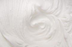 Crema azotada Foto de archivo libre de regalías