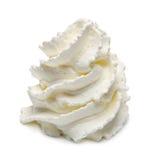 Crema azotada Imagen de archivo libre de regalías
