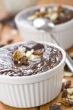 Crema batida de chocolate Imagen de archivo