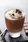 Crema batida de chocolate o milkshake Foto de archivo libre de regalías