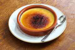 Crema catalana Stock Photos