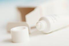 Crema cosmética Imagen de archivo libre de regalías