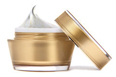 Crema cosmetica Fotografia Stock Libera da Diritti