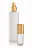 Crema de cara cosmética de lujo Foto de archivo libre de regalías