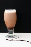 Crema de huevo de chocolate Imagen de archivo libre de regalías