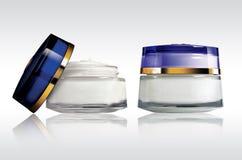 Crema de los cosméticos Fotografía de archivo