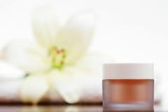 Crema de Skincare Imágenes de archivo libres de regalías