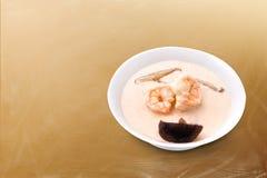 Crema del camarón de los mariscos Imágenes de archivo libres de regalías