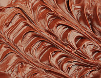 Crema del chocolate Fotografía de archivo libre de regalías
