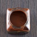 Crema del chocolate Fotos de archivo libres de regalías