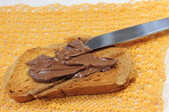 Crema del cioccolato Immagine Stock Libera da Diritti