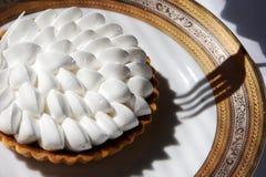 Crema del cioccolato del grafico a torta del dessert Immagini Stock