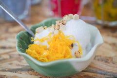 Crema del gelato al cocco immagine stock libera da diritti
