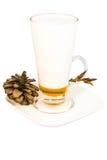 Crema del Latte Fotografia Stock Libera da Diritti