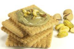 Crema del pistacho Fotos de archivo