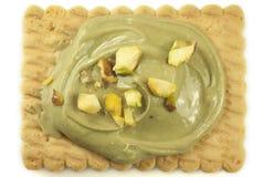 Crema del pistacho Imagen de archivo libre de regalías