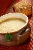 Crema del queso de Cantal Fotos de archivo