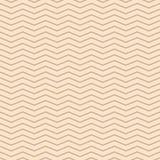 Crema del zigzag de Chevron y modelo inconsútil beige ilustración del vector