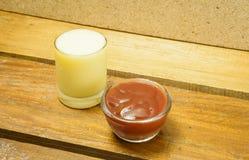 crema dell'insalata Immagine Stock Libera da Diritti