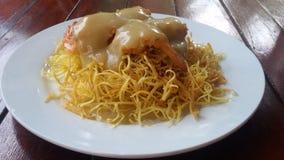 Crema dell'insalata di patata Fotografia Stock