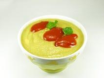 Crema dello zucchino Fotografie Stock Libere da Diritti