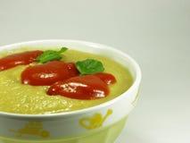 Crema dello zucchino Fotografia Stock Libera da Diritti
